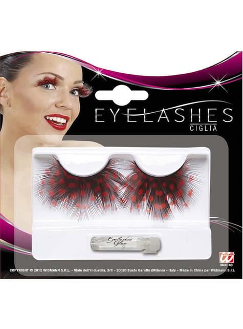 Woman's Ladybird Eyelashes