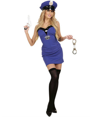 Woman's Interesting Police Costume