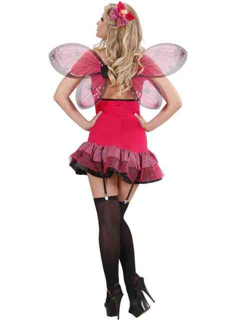 Kostium niegrzeczny motylek damski