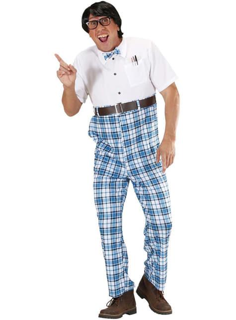Afstotende nerd kostuum voor mannen
