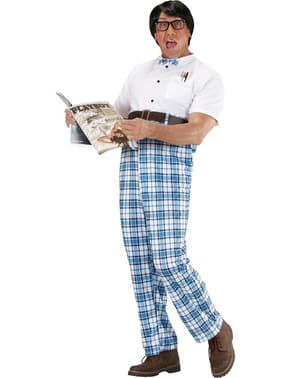 Besserwisserischer Streber Kostüm für Herren