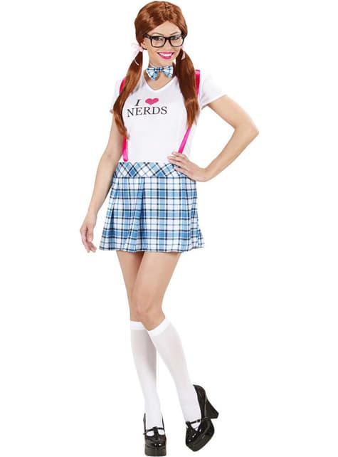 I love Nerds Kostüm für Damen