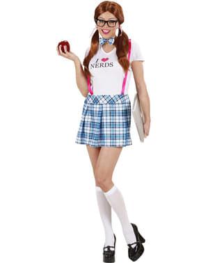 Nerd Elsker Kostyme Dame