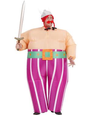 Disfraz de galo gordinflón hinchable para hombre