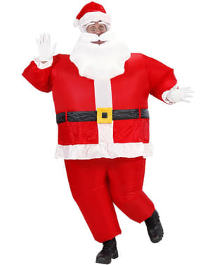 Opustelig Julemands kostume til mænd