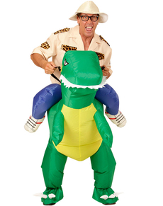 Adultu0027s Dinosaur Rider Costume Adultu0027s Dinosaur Rider Costume  sc 1 st  Funidelia & Ride On Carry me / Piggy back Costumes. Express delivery | Funidelia