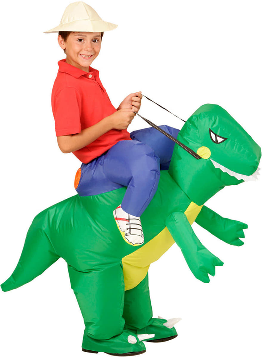 dinosaurier reiter kost m f r jungen 24h versand funidelia. Black Bedroom Furniture Sets. Home Design Ideas