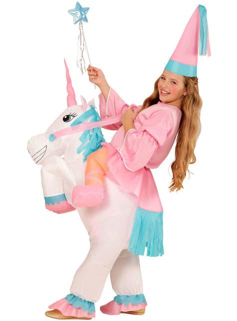 Disfraz de a lomos de mi unicornio para niña - niña