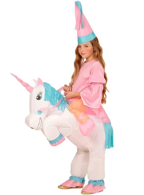 Disfraz de a lomos de mi unicornio para niña - original