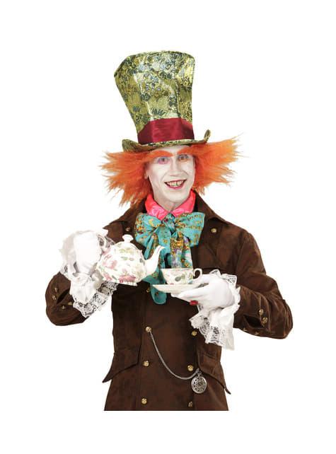 Sombrero de modista loco con peluca para adulto - para tu disfraz