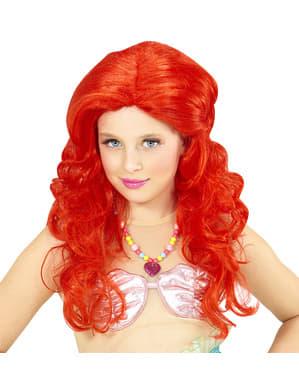 Parrucca da sirena per bambina