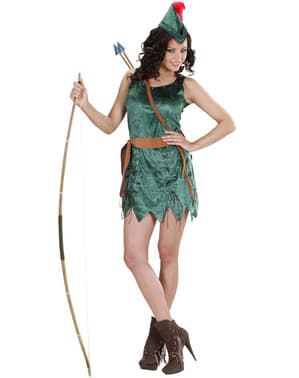 Skogens Vigilante Kostyme Dame