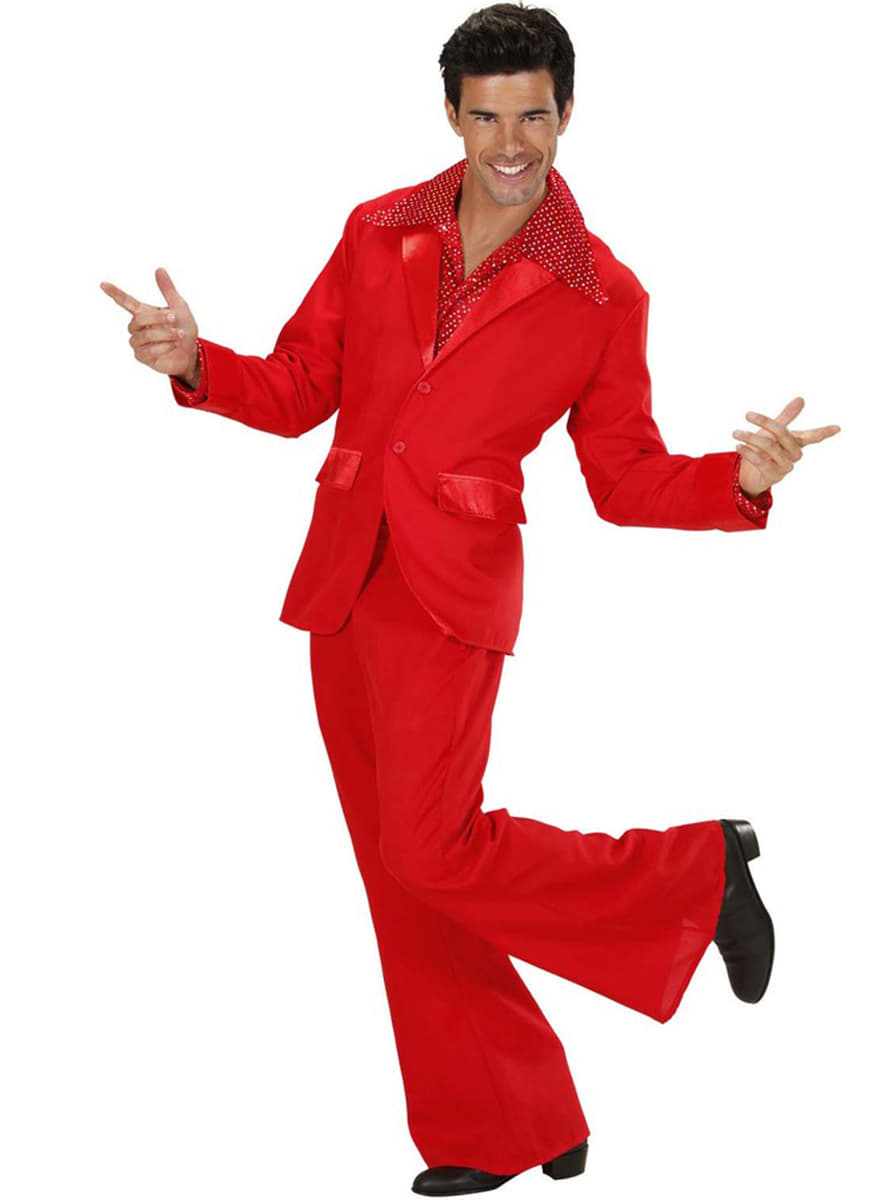costume disco rouge homme funidelia. Black Bedroom Furniture Sets. Home Design Ideas