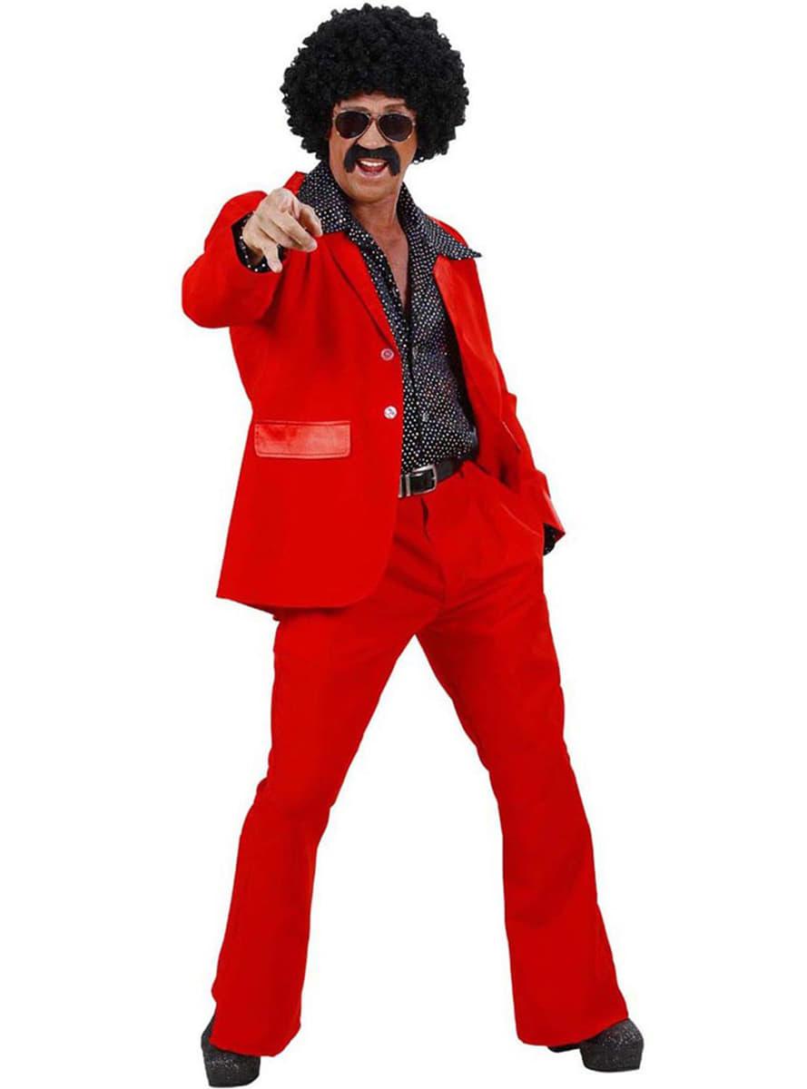 Abito Matrimonio Uomo Rosso : Abito disco rosso per uomo il tuo costume funidelia