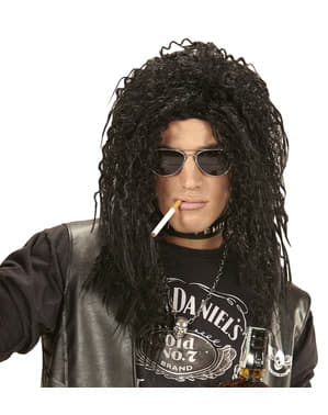 Man's Long-haired Rocker Wig