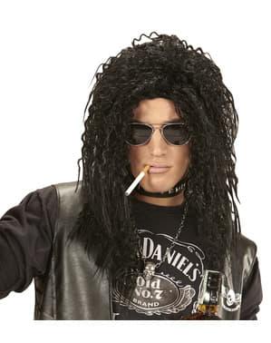 Parrucca da rocker capellone per uomo