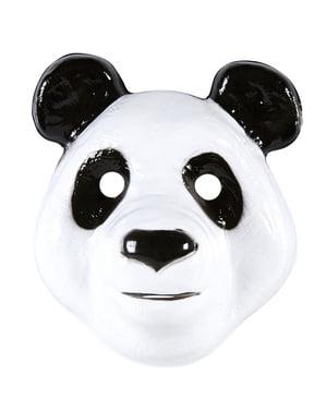Mască de panda amuzant pentru copii