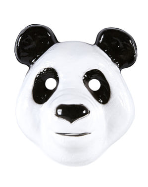 Maska Zabawna Panda dla dzieci