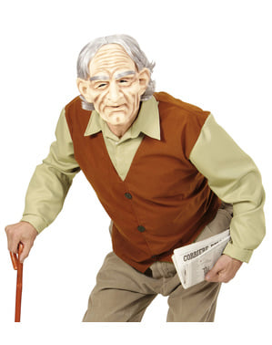 Pánský kostým tajemný dědeček