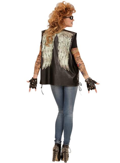 Chaleco con alas de cazador de zombies para adulto - original