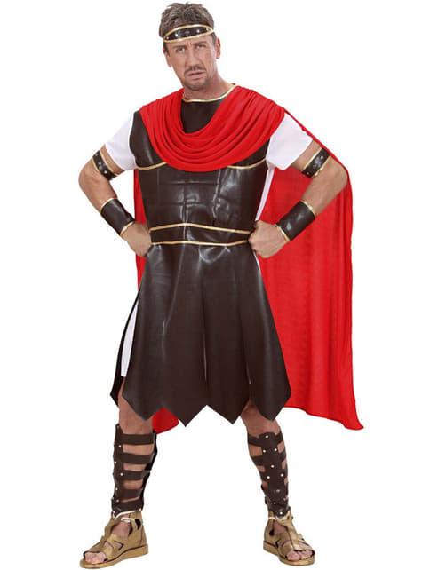 Disfraz de guerrero de la antigua Grecia para hombre talla grande - original
