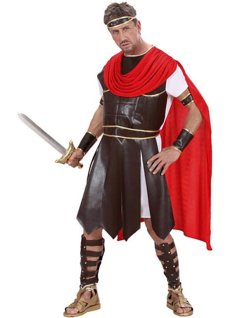 Disfraz de guerrero de la antigua Grecia para hombre talla grande - traje