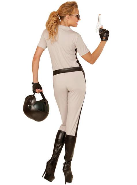 Disfraz de policía de tráfico sexy para mujer - original