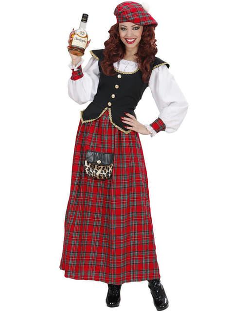 Déguisement écossaise élégante femme