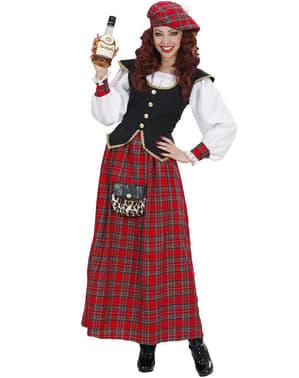 Costum de scoțiană elegantă pentru femeie