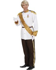 Disfraz de príncipe feliz para hombre