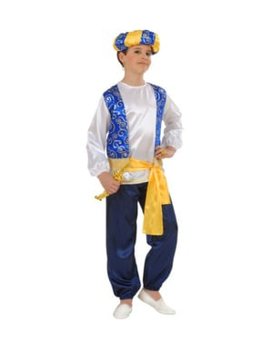 Elegantní chlapecký kostým sultán