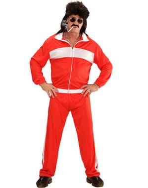 Lelaki Daripada Bentuk Olahragawan Kostum