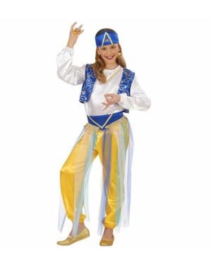 Disfraz de princesa árabe elegante para niña