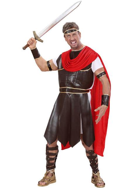 Disfraz de guerrero de la antigua Grecia para hombre