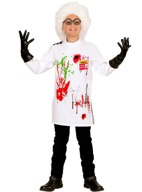 Boy's Mad Scientist Costume