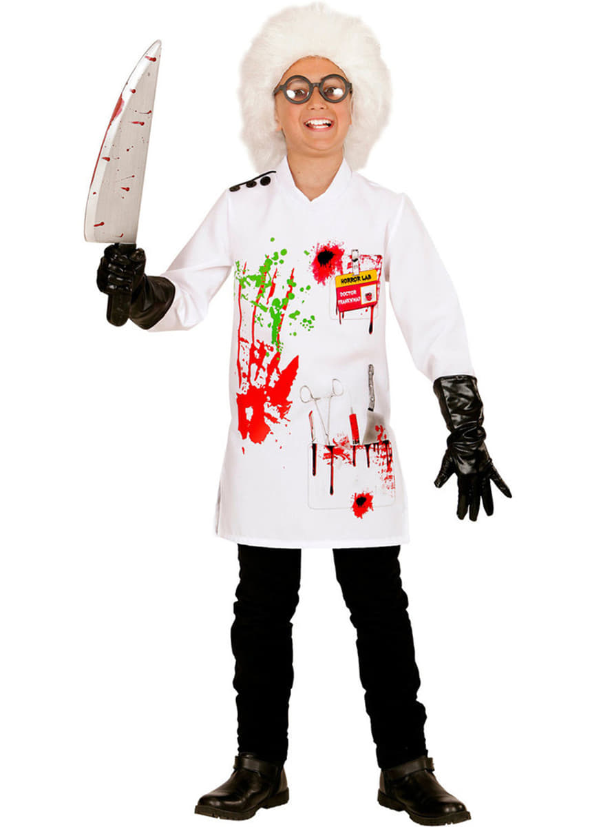 boy's mad scientist costume. express delivery | funidelia