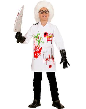 Skør videnskabsmand kostume til drenge