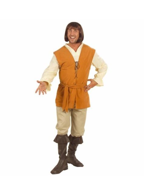 Disfraz de poeta medieval para hombre