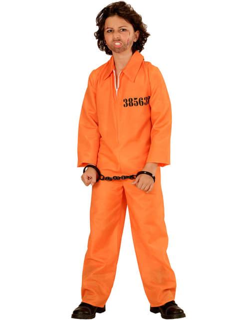 Disfraz de delincuente detenido para niño - infantil