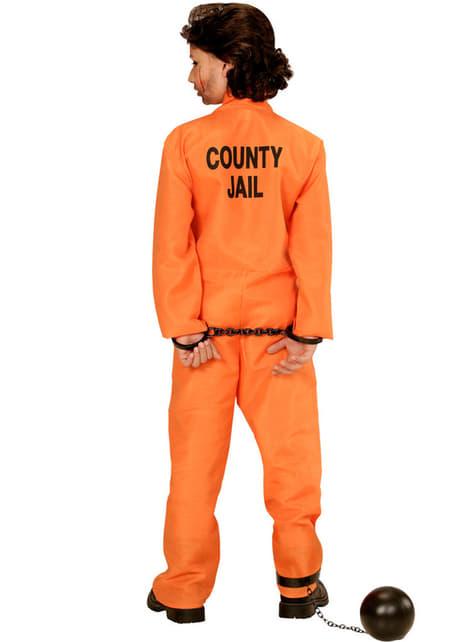 Disfraz de delincuente detenido para niño - original