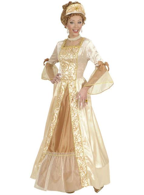 Disfraz de princesa dorada de cuento para mujer - mujer