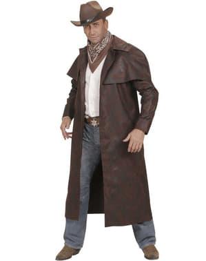 Płaszcz kostium z zachodu męski