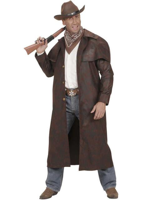 Abrigo de cowboy del oeste para hombre - hombre