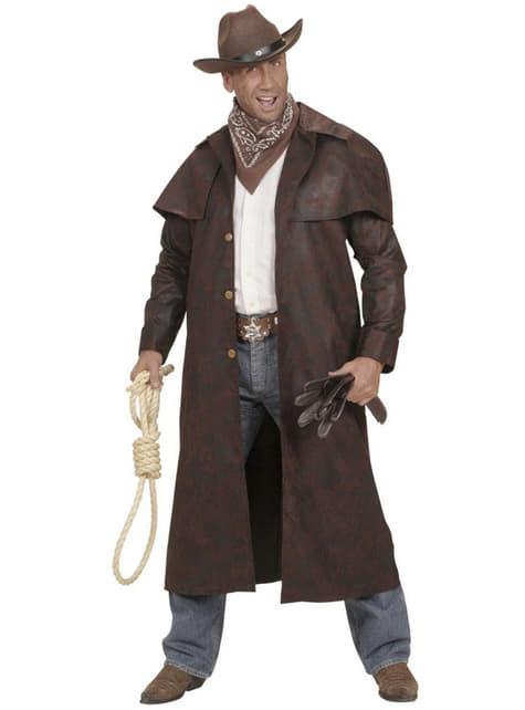 Abrigo de cowboy del oeste para hombre - original