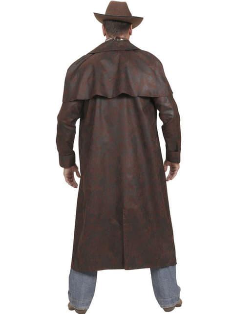Abrigo de cowboy del oeste para hombre - traje