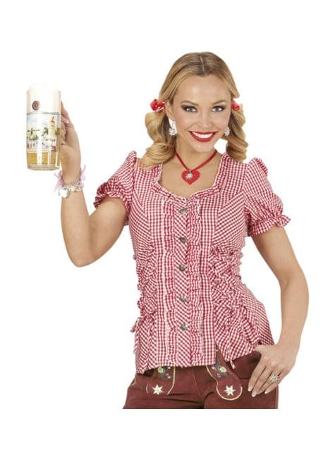 Camisa Oktoberfest talla grande para mujer - mujer