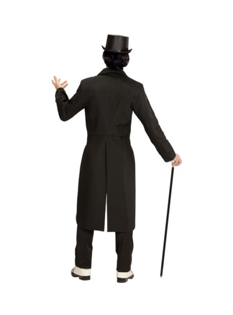 Disfraz de frac elegante para hombre talla grande - hombre