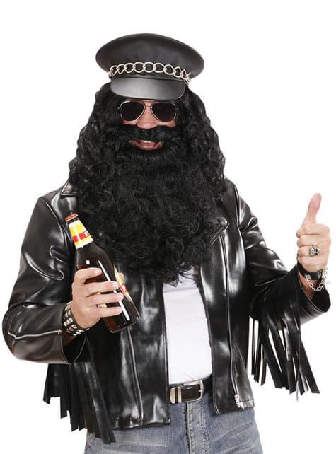 Chaqueta rockera para hombre talla grande - Halloween