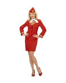 Flight Attendant Costumes Welcome Aboard Funidelia