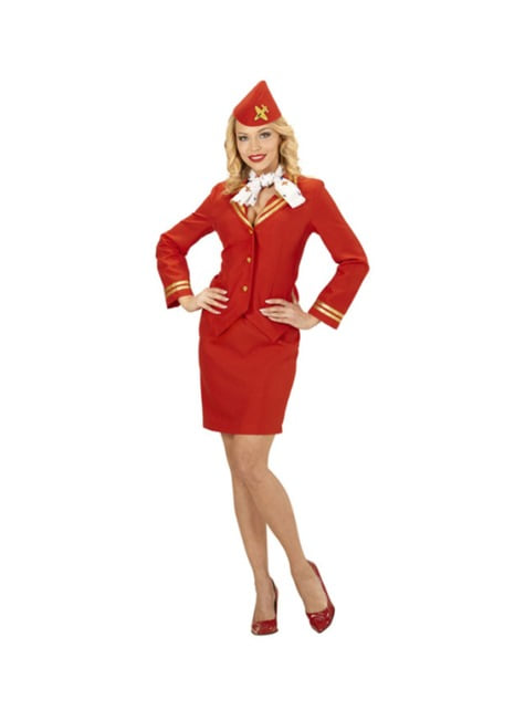 Woman's Flight Attendant Costume
